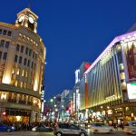 Ginza for shopping and dating